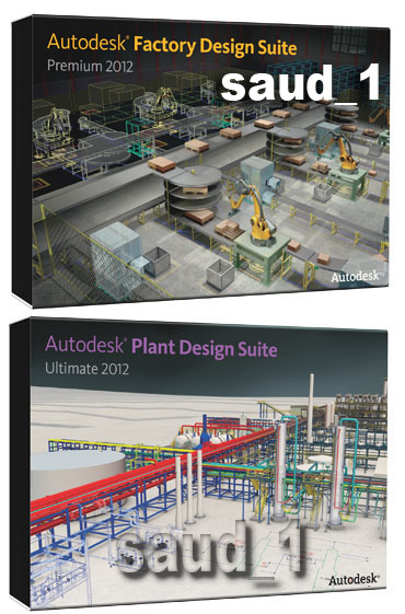 Autodesk Factory Design Suite Premium 2012 + Autodesk Plant Design Suite Ultimate 2012 (x86/x64/Multilingual)