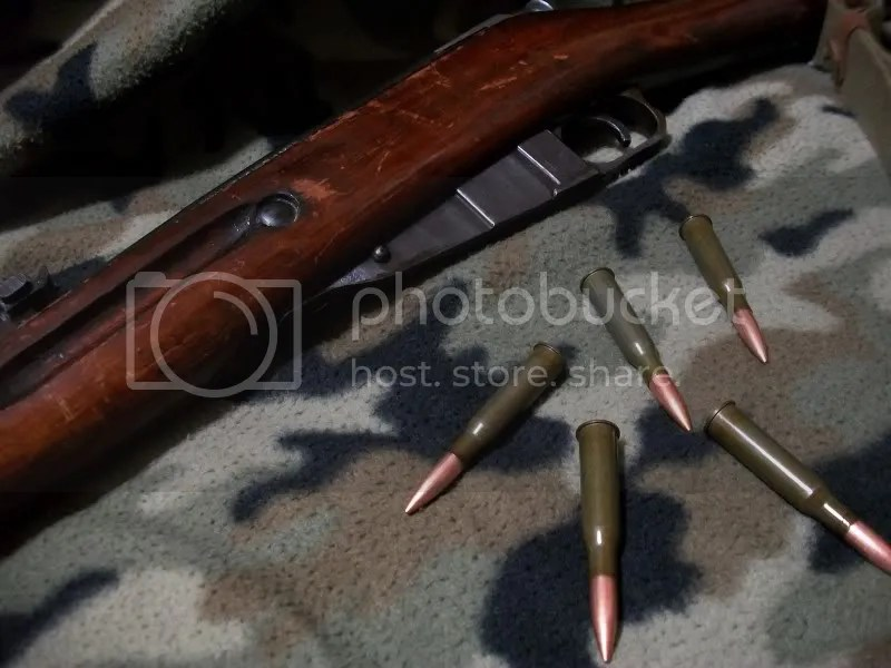 Mosin Nagant 91/30 with its favorite food - 7.62x54r FMJ