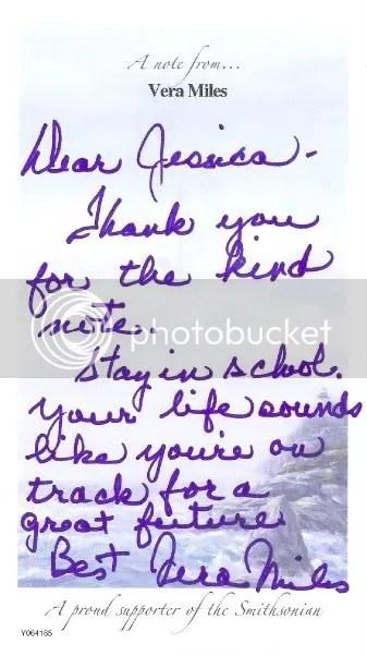 Vera Letter
