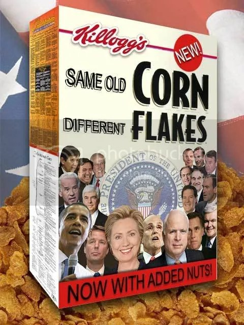 Same Corn Different Flakes
