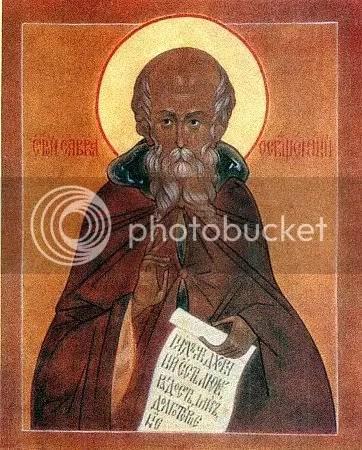 St Sava (Sabba) the Sanctified