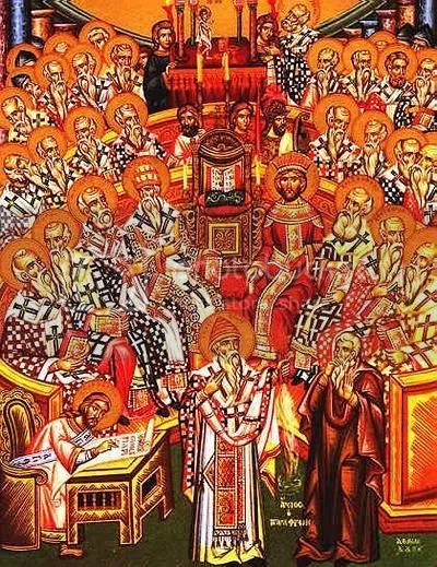 Icon - First Council of Nicea