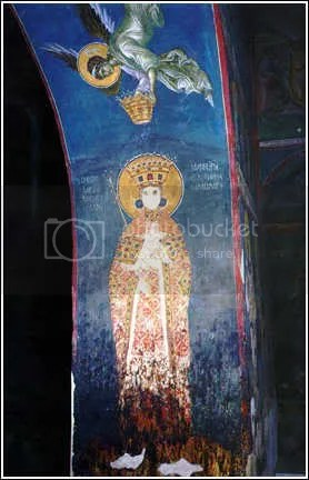 Fresco Queen Simonida