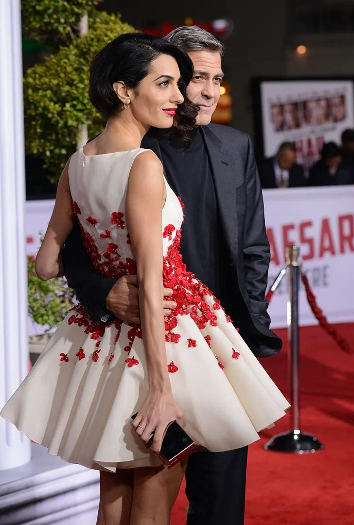 Poisepolish Amal Clooney In Giambattista Valli
