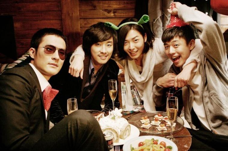 scene du film antique bakery avec Joo Ji Hoon Choi Ji Ho Yoo Ah In Kim Jae Wook