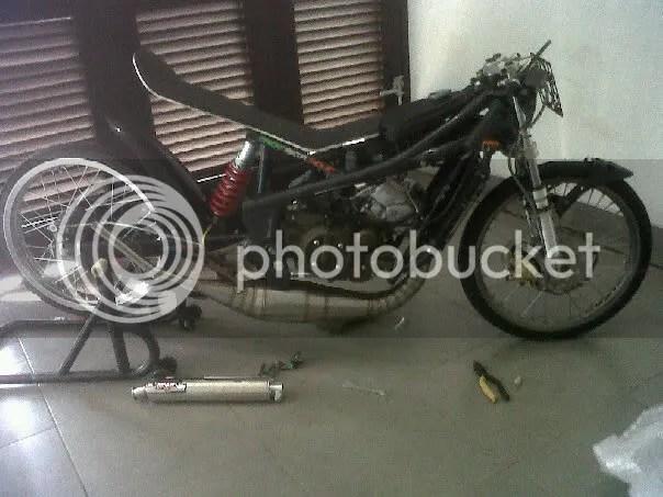 Greenseta Dah sampe di Tujuan Paddock Harrymotor Drag kemayoran Jakarta