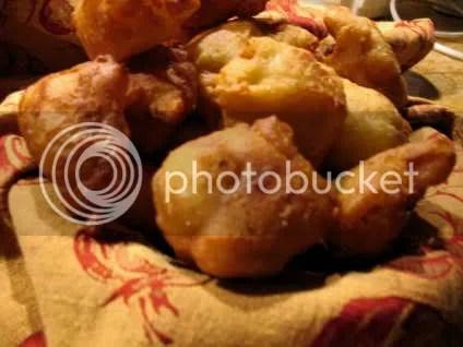 Cauliflower doughnuts