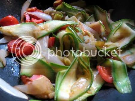 Hoisin zucchini