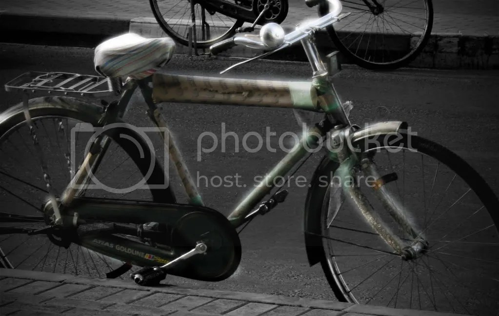 old bicycle photo: Bicycle Bisikleta.jpg