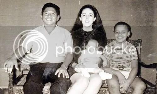 keluarga Obama kecil