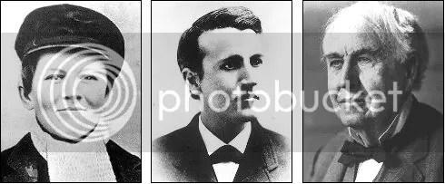 Thomas Alva Edison, dari kecil sampai tua