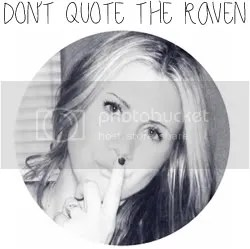 Don't quote the raven