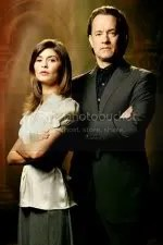 Sophie Nevue and Robert Langdon