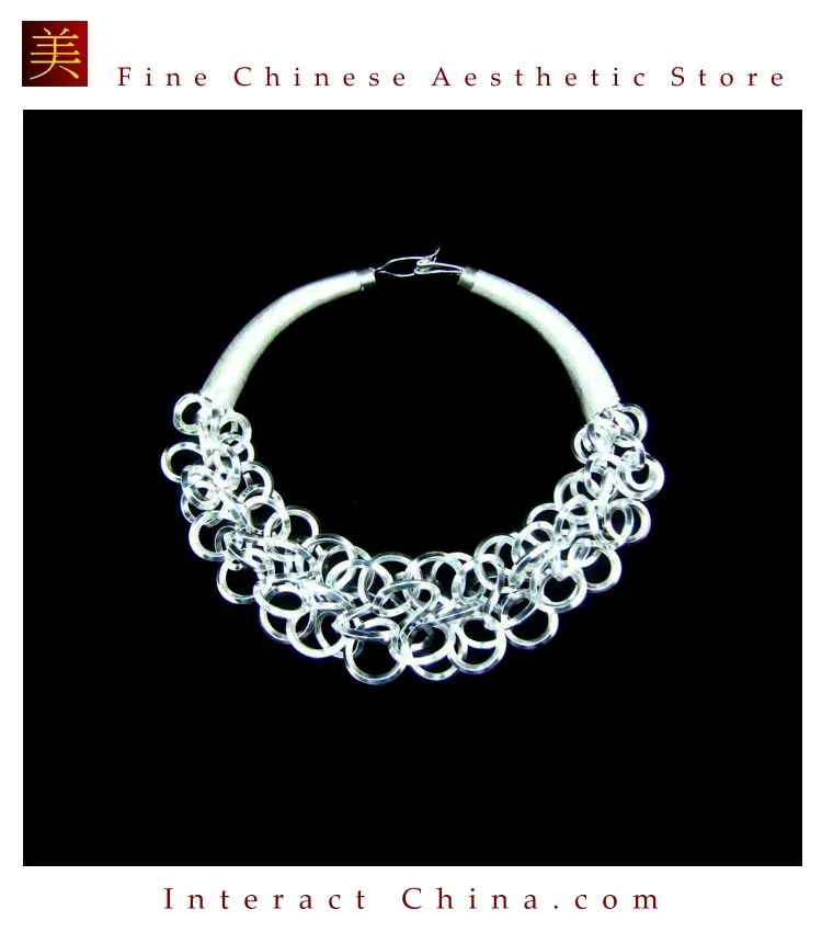 Tribal Handcrafted Silver Necklace