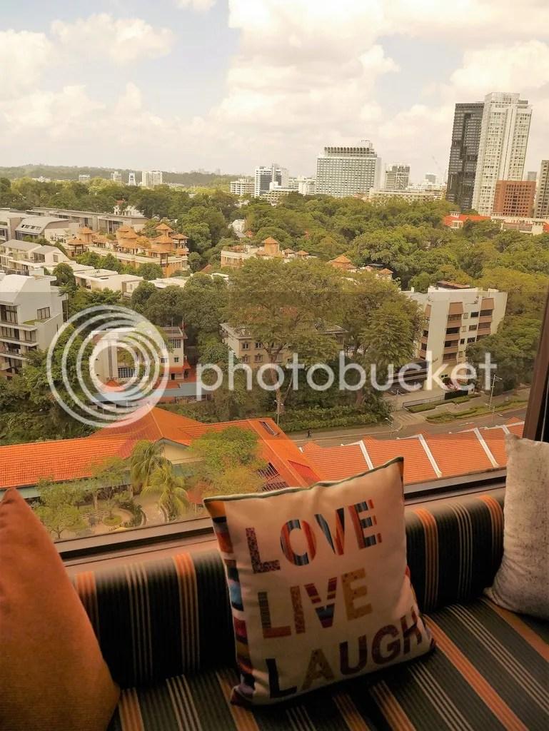 view outside my window hotel jen tanglin
