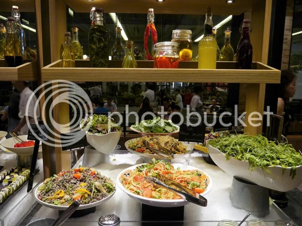 J65 Hotel Jen Tanglin salad