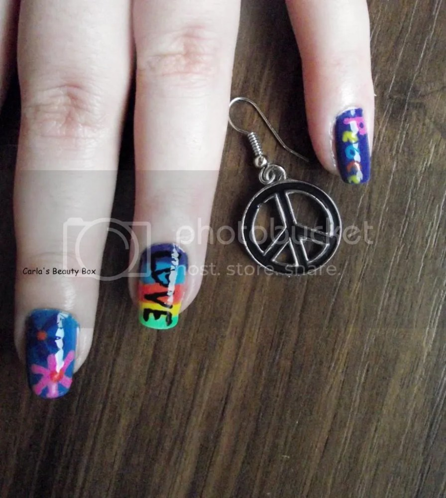 T.P.A Group Challenge: 17. Hippie nails (5/6)