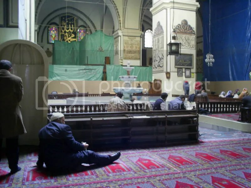 Interior part of Ulu Camii