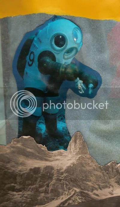 spaceman or deepsea diver