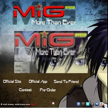 official MiG CD promo from mig-music
