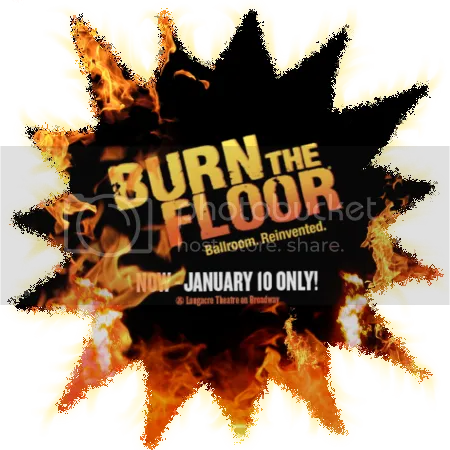 MiG in Burn the Floor logo