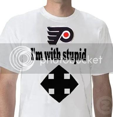 Flyers tweet, twitter, Flyers make spelling error