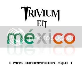 Trivium en Mexico
