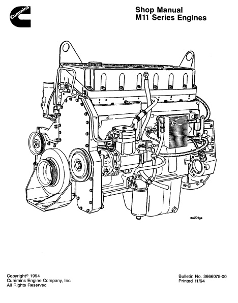 Cummins B Series Engine Manual