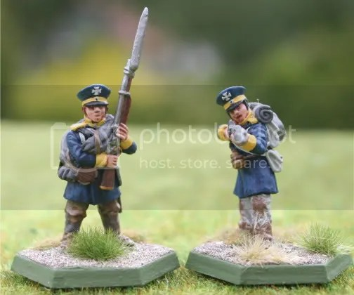 Skirmishers for the 3tes Battalion, 13te Schlesische Landwehr