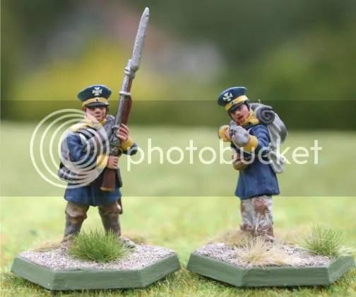 Skirmishers for the 3tes Battalion, 13te Schlesische Landwehr