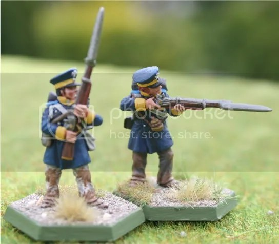 Skirmishers for the upcoming 4tes Battalion, 15te Schlesische Landwehr