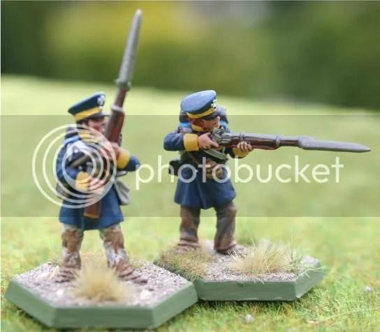 Skirmishers for the upcoming 4tes Battalion, 15te Schlesische Landwehr