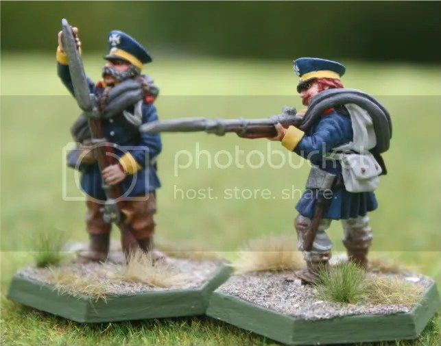 Skirmishers for the 2tes Battalion, 14te Schlesische Landwehr