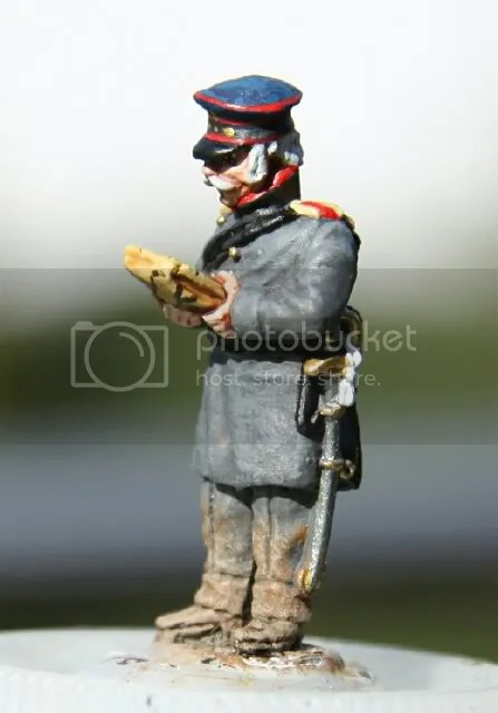 Prussian Artillery Officer