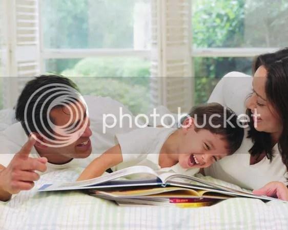 orang tua dan anak dalam belajar