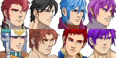 BiaBias Hot Dudes and Chicks Sprites and Facesets for RPG