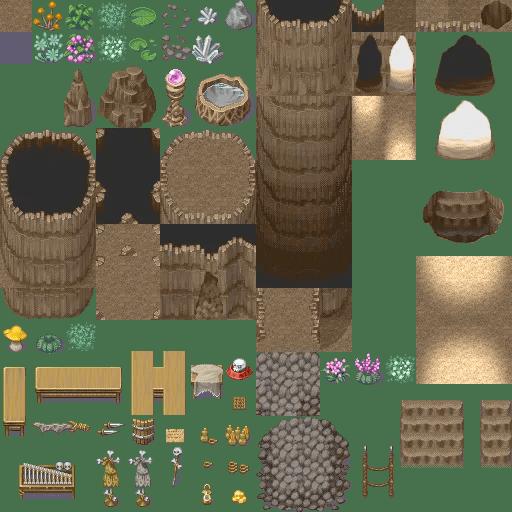 XP to VX/Ace Cave Tiles