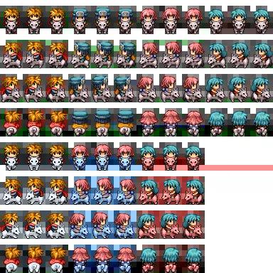 RPG Maker VX/Ace Portraits | GrandmaDebsLittleBits