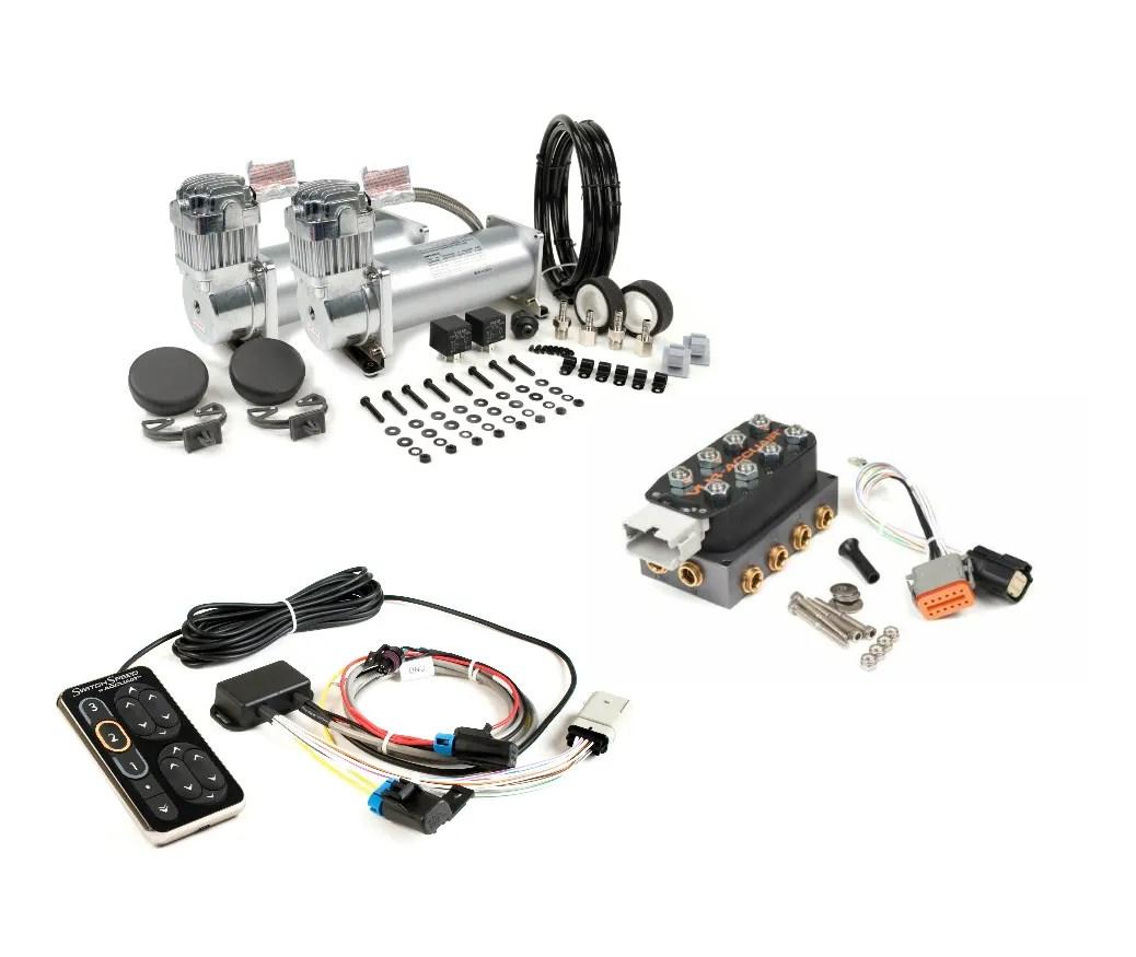 Accuair Speed Switch W Vu4 Manifold Viair 450c Dual