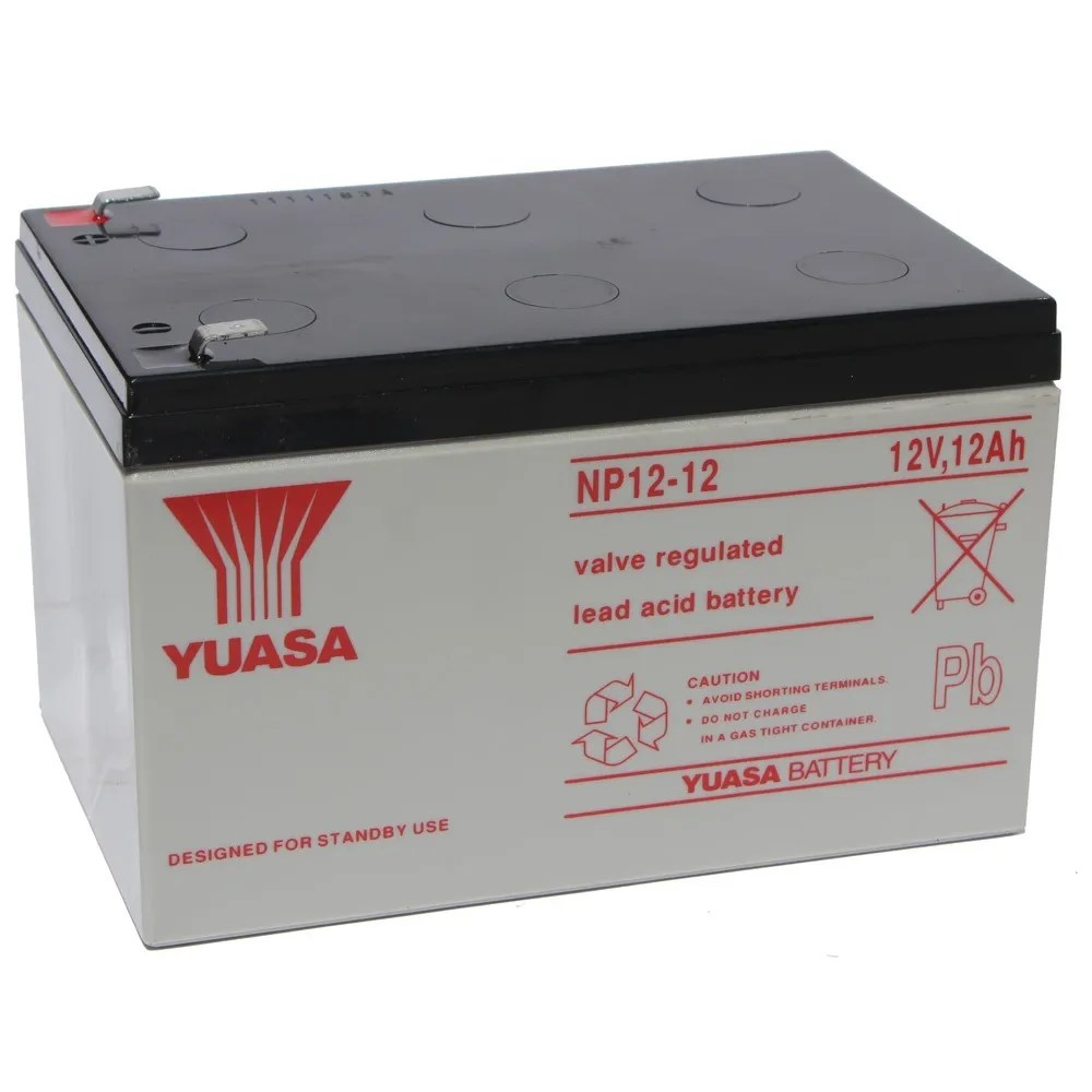 Yuasa NP12 12 F2 250 Sealed Lead Acid Batter 12V 12AH Replaces Enersys Genesis EBay