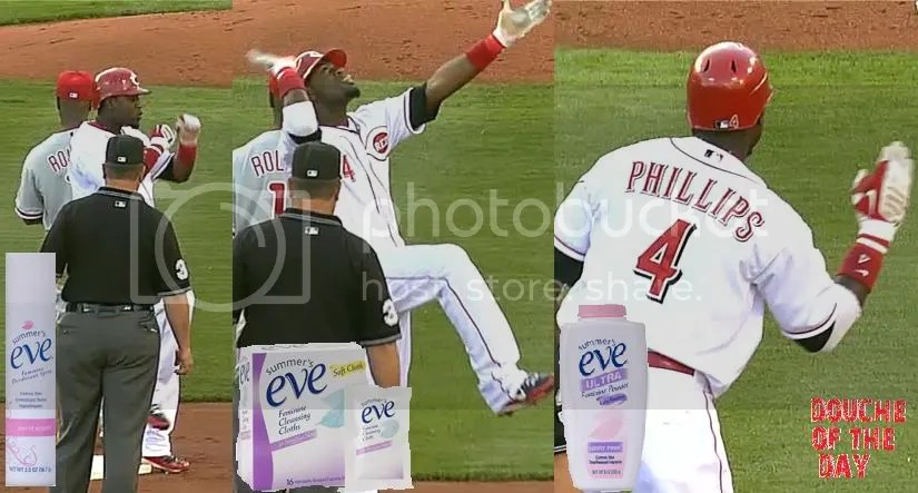 DOUCHE OF THE DAY: BRANDON PHILLIPS