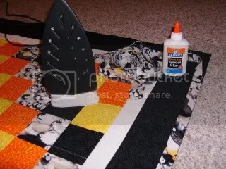 Penguin Quilt Binding