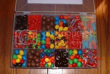 OPEN Personalized Candy Box