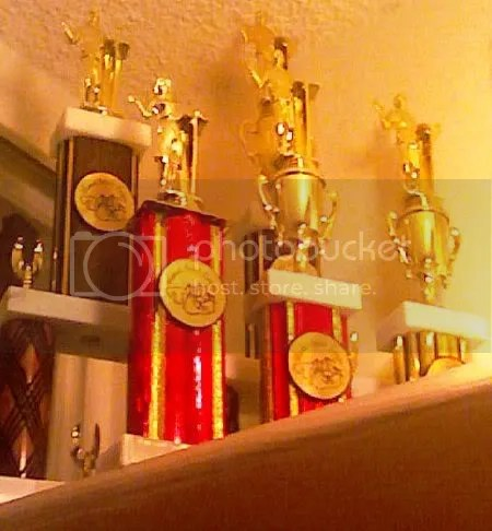 My Lovely Trophies!