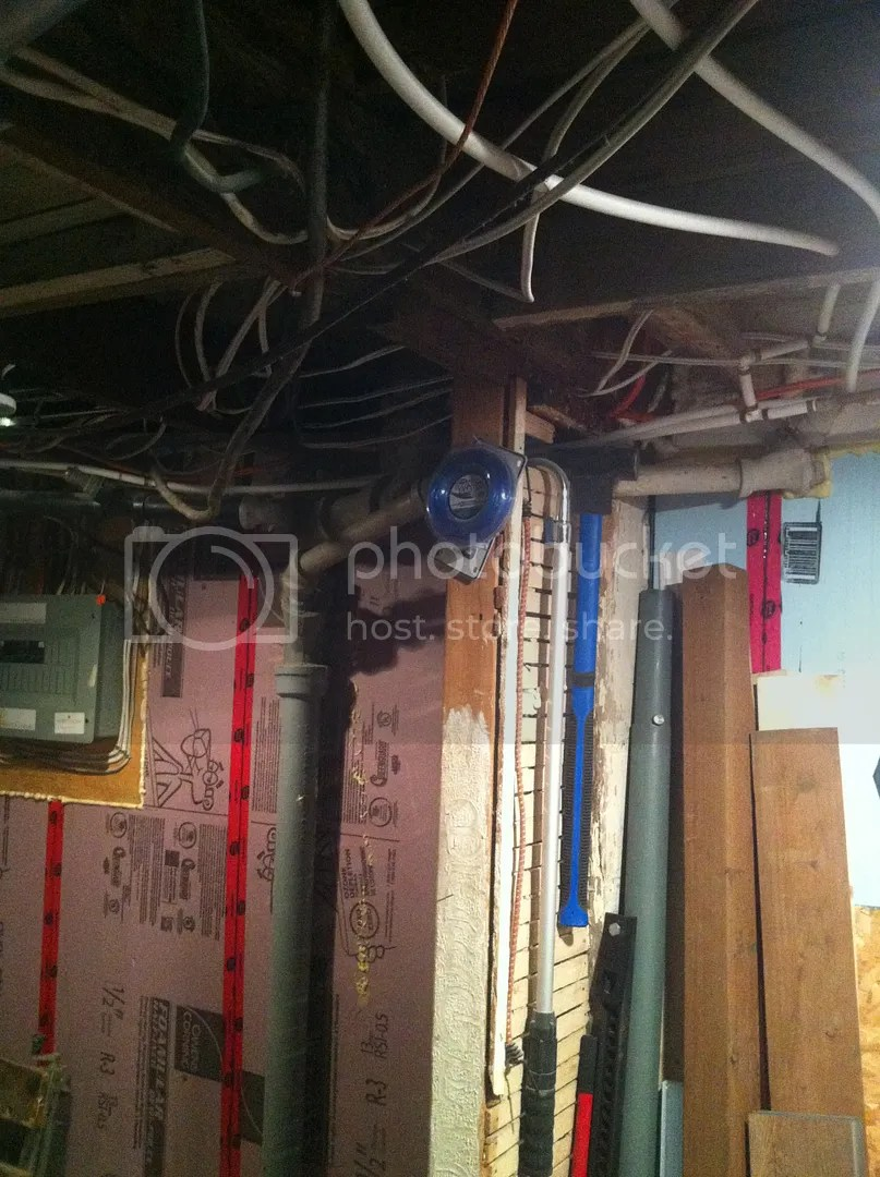 bathroom exhaust fan venting routing