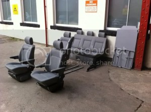 Late multivan bed , pair front heated captains seats  VW T4 Forum  VW T5 Forum