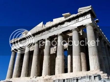 Parthenon, o templo de Athena.