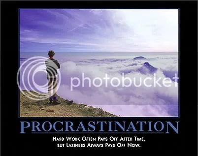 Procrasintation