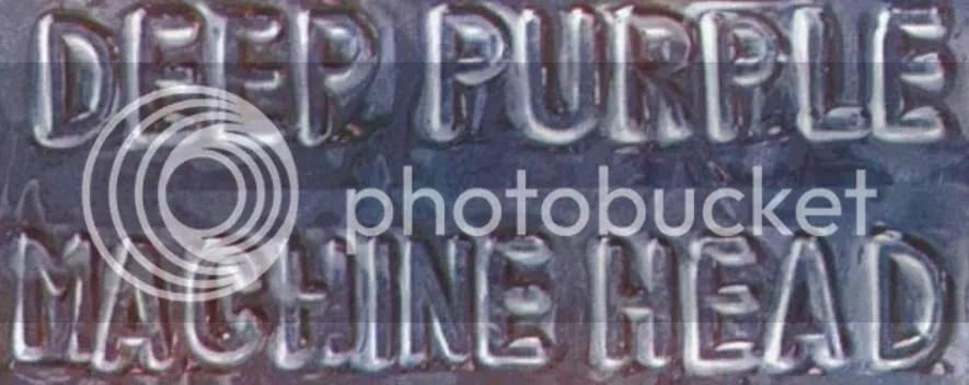 Machine Head Typography
