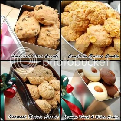 X's Mas & New Year Cookies –Set 1